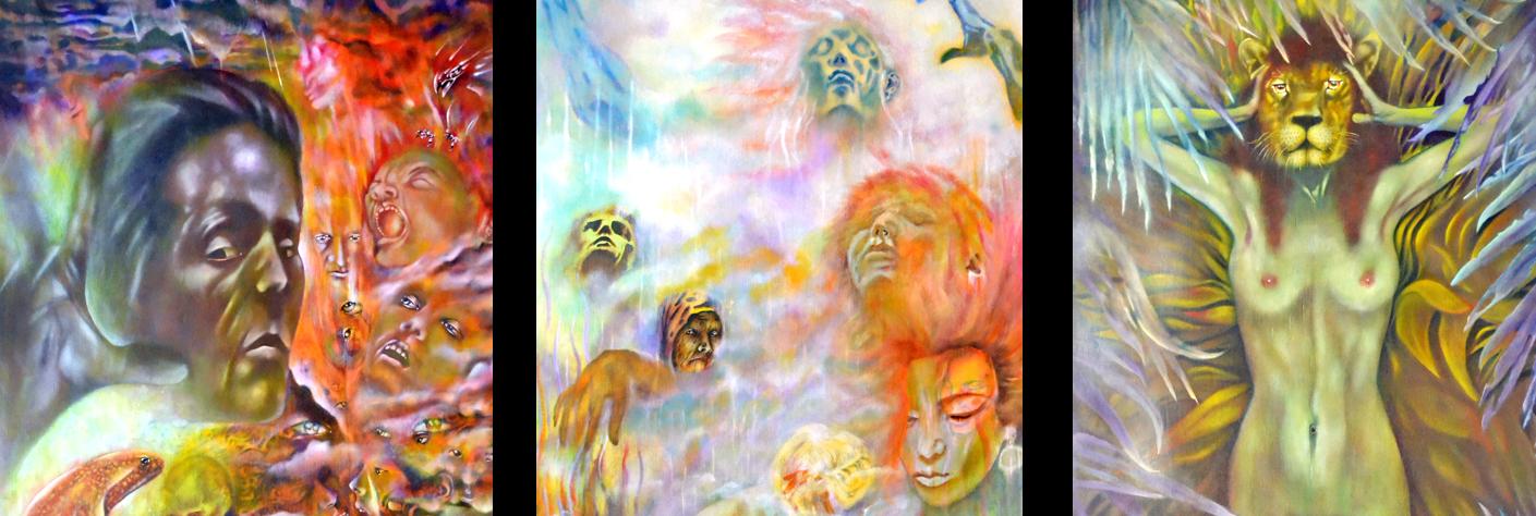Minneapolis visual artist Roger Williamson, Minnesota visual artist, Minnesota visual artist, painting, Minneapolis occult artist