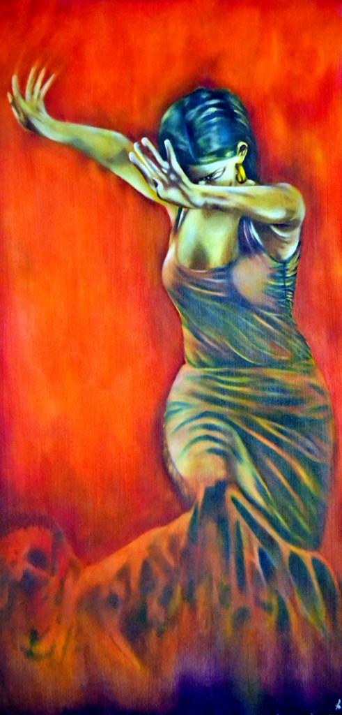 Flamenco, spanish fire