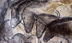 horses, prehistoric cave paintings