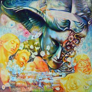 sabbat,De Quincey levana confessions,minneapolis artist,symbolism,mythology