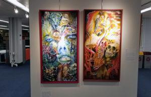 Avivo University of Minnesota, symbolic art