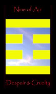 tarot nine air, nine swords, 9 air, 9 swords9 air, 9 swords
