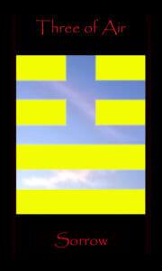 Tarot Queen Air rules 20 degrees Virgo through 20 degrees Libra