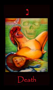 tarot death,major arcana,scorpio,rebirth