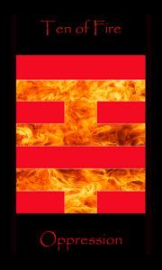 Ten of Fire, Ten of Wands