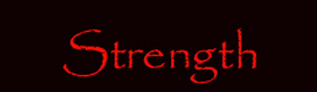 tarot major arcana card Strength