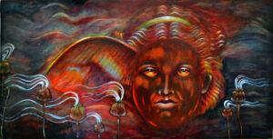 Hypnos, Morpheus, Nyx,Sleep, Dreams, Greek mythology,Williamson art,Metaphysical